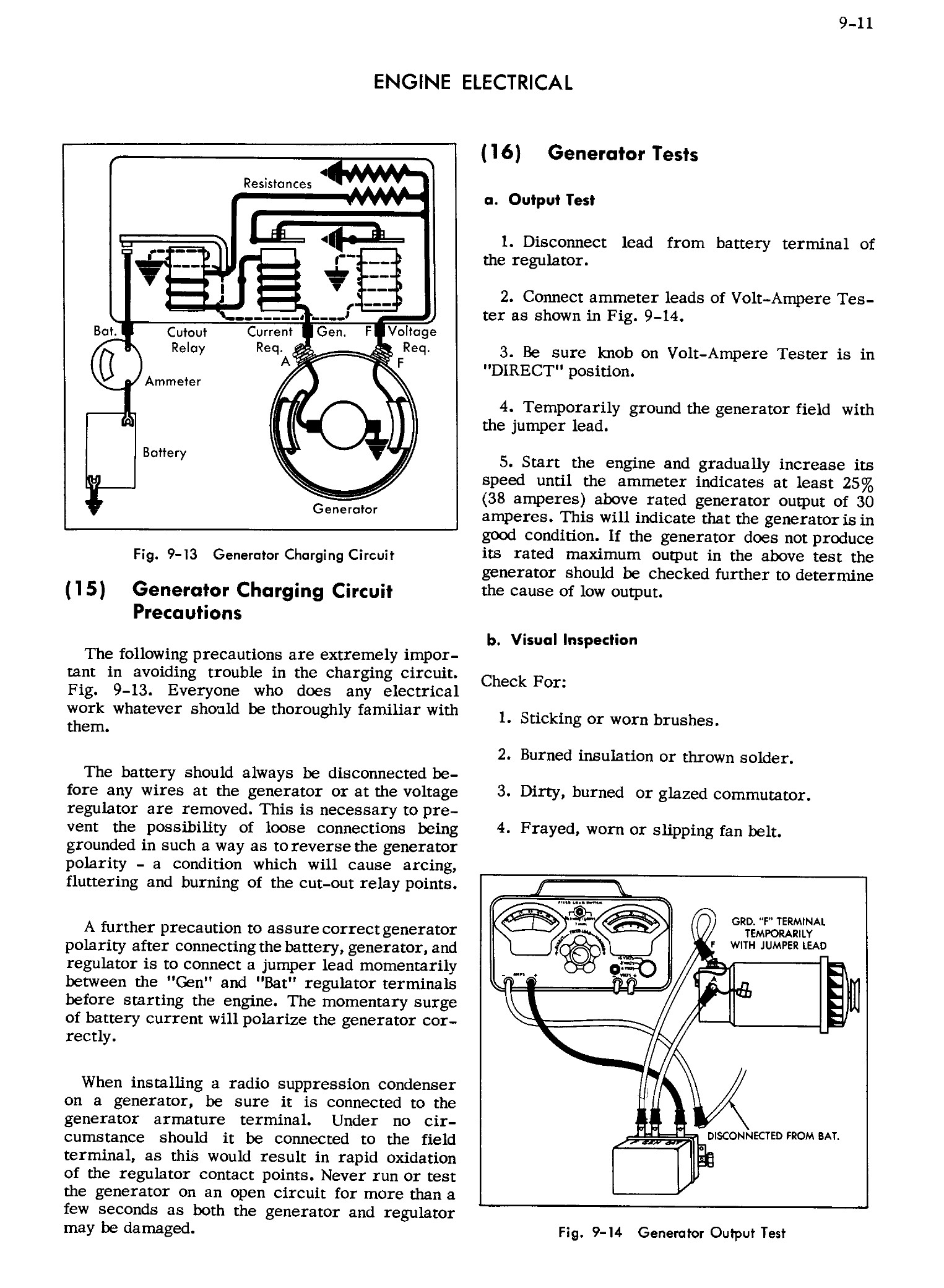1956 Cadillac Shop Manual- Engine Electrical Page 11 of 28
